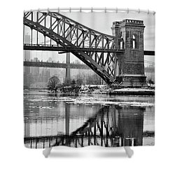 Portrait Of The Hellgate Shower Curtain