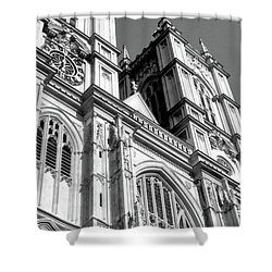 Portrait Of Westminster Abbey Shower Curtain