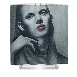 Portrait Study Shower Curtain