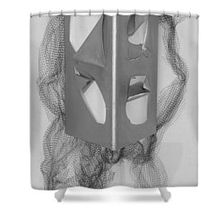 Portrait Shower Curtain by Al Goldfarb