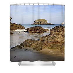 Portreath Shower Curtain
