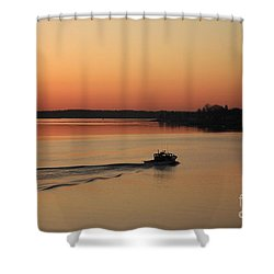 Portsmouth Harbor - Portsmouth New Hamphire Usa Shower Curtain by Erin Paul Donovan