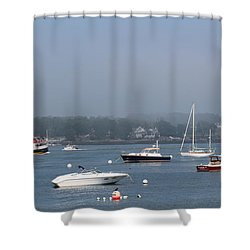 Portsmouth Harbor Nh Shower Curtain
