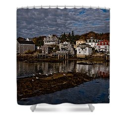 Portsmouth Morning Shower Curtain