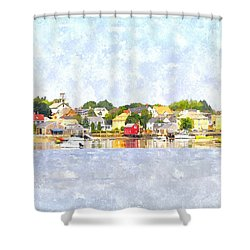 Portsmouth Nh South End Psewc Shower Curtain