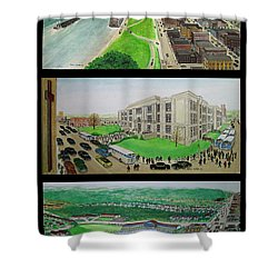 Portsmouth Ohio 1955 Shower Curtain