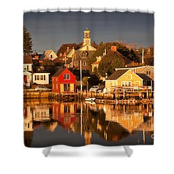 Portsmouth Reflections Shower Curtain