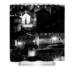 Shower Curtain featuring the photograph Portuguese Rural Village by Edgar Laureano