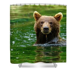 Pose Shower Curtain