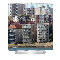 Shower Curtain featuring the photograph Posh Burbs by Stephen Mitchell