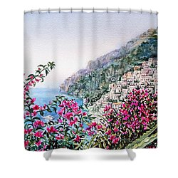 Positano Italy Shower Curtain