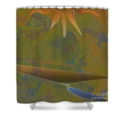 Pure Possibility Shower Curtain