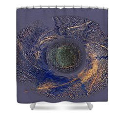 Possible Asymmetric Big Bang 2 Shower Curtain by David Klaboe