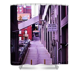 Post Alley, Seattle Shower Curtain