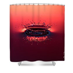 Post Impact Shower Curtain