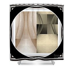 Post Modern Woman Series Two Shower Curtain