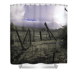 Shower Curtain featuring the photograph Post Storm by Chriss Pagani