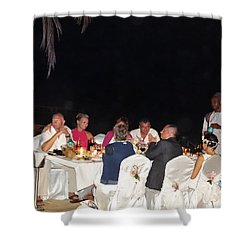 Post Wedding Celebrations Shower Curtain