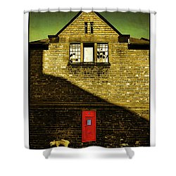 Postal Service Shower Curtain by Mal Bray