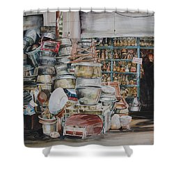 Pot-pourii Shower Curtain by P Anthony Visco