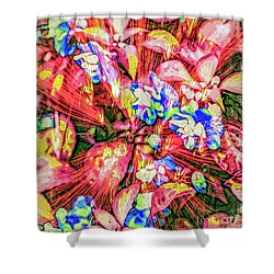 Pot Pourri Shower Curtain