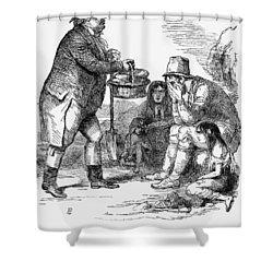 Potato Famine, 1846 Shower Curtain by Granger