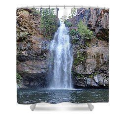 Potem Falls Shower Curtain