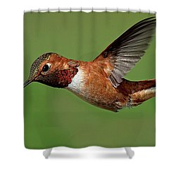 Potrait Shower Curtain