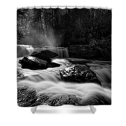 Potters Creek Shower Curtain