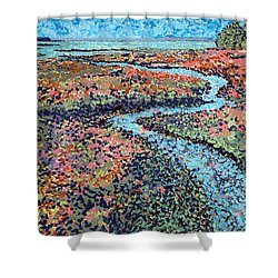Pottery Creek Shower Curtain