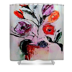 Pottery Plants Shower Curtain