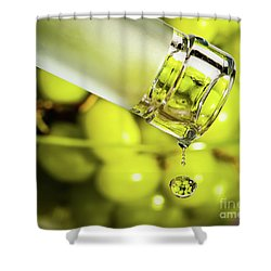 Pour Me Some Vino Shower Curtain