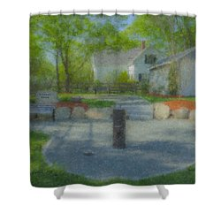 Povoas Park Shower Curtain