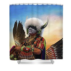 Shower Curtain featuring the photograph Pow Wow 3 by Jim  Hatch