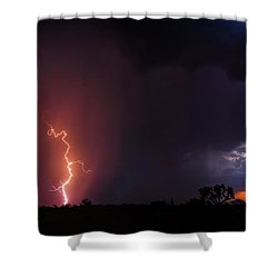 Pow Wow Dancer Shower Curtain by Rick Furmanek