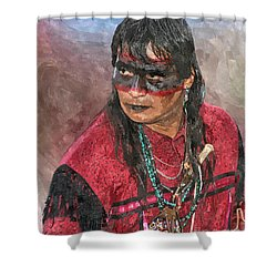 Pow Wow Shower Curtain