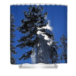 Powderfall Shower Curtain
