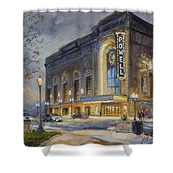 Powell Symphony Hall In Saint Louis Shower Curtain