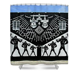 Power And Glory Shower Curtain