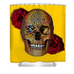 Power And Wisdom Shower Curtain