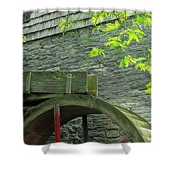 Power Before Electric Shower Curtain by Paul W Faust -  Impressions of Light