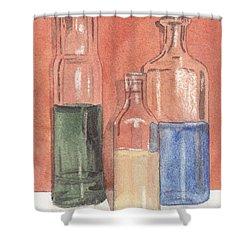 Power Failure Prescriptions Shower Curtain by Ken Powers