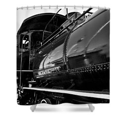 Power In The Age Of Steam 5 Shower Curtain by Dan Dooley
