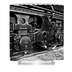 Power In The Age Of Steam 6 Shower Curtain by Dan Dooley