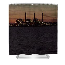 Shower Curtain featuring the photograph Power In The Dark by Betty Northcutt