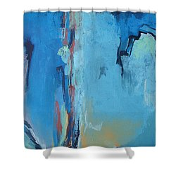 Power Released Shower Curtain