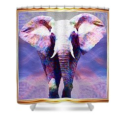 Powerful Journey Into A New Dawn Shower Curtain
