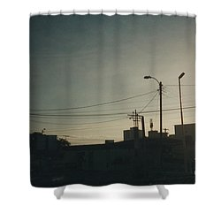 Untitled Street Scene Shower Curtain