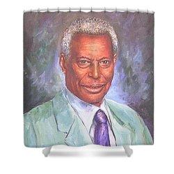 Pr. Daffa Jammo Shower Curtain