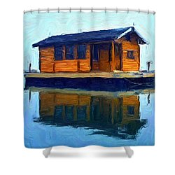 PR2 Shower Curtain